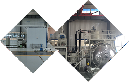 Vacuum oil injection equipment