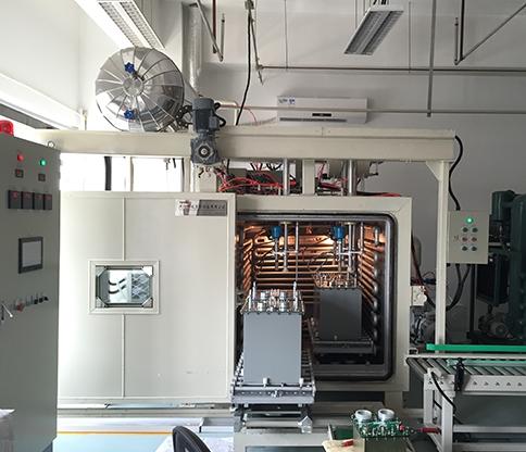 Vacuum filling chamber