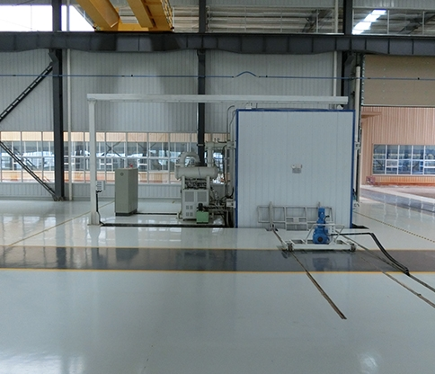 Vacuum drying equipment