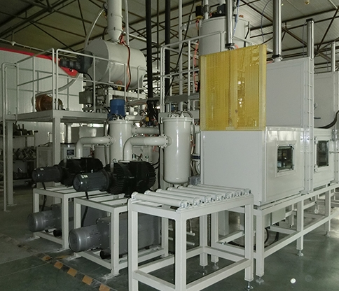 Vacuum casting equipment for transformer